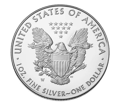 2018 W American Silver Eagle One Ounce Silver 1 Proof US Mint