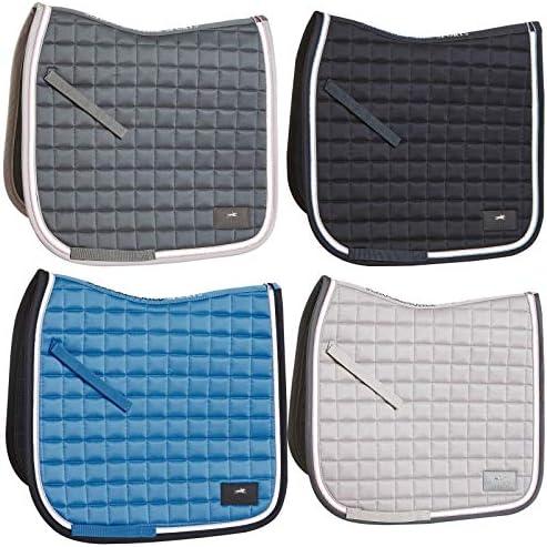 Schockem/öhle Sports Schabracke SCH/_Spirit PAD Style Form Dressur Farbe Moonlight Blue