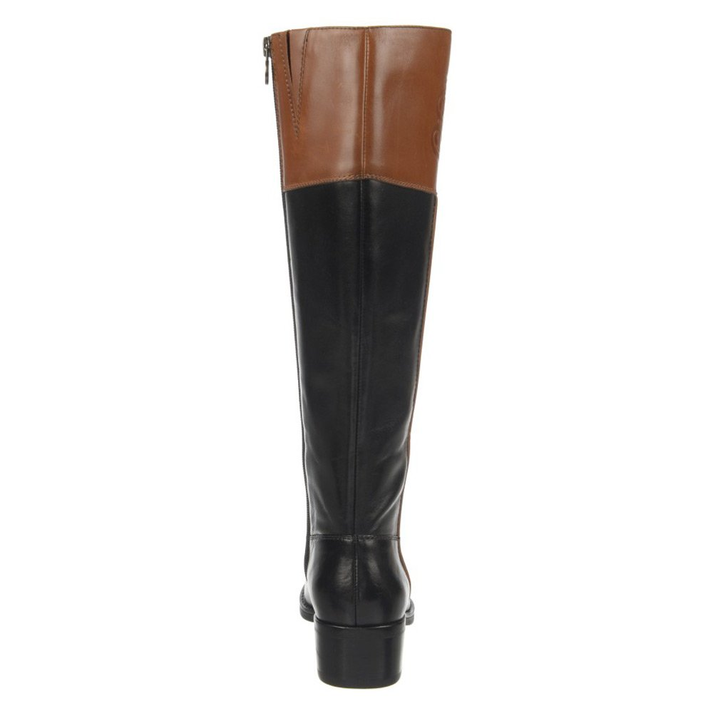 0aa1d0103 Amazon.com | Franco Sarto Women's Canyon Wide Shaft Black/Acorn Boot 6 M |  Knee-High