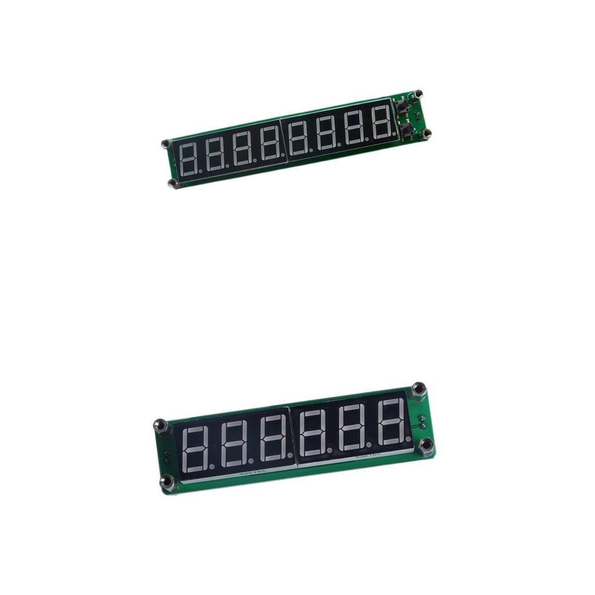 Fenteer 6LED and 8LED Digital Display Signal Frequency Counter RF Meter Module Green 1000MHz