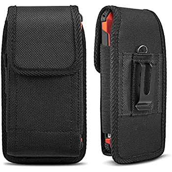 official photos 560d6 ced63 iNNEXT Universal Case for iPhone 8 7 Plus Pouch Case, Vertical Holster Belt  Clip Carrying Case Pouch for iPhone X iPhone Xs iPhone XR iPhone 6 ...