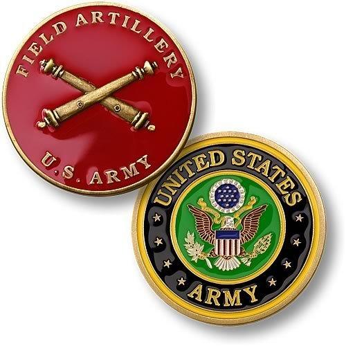 U.S. Army Field Artillery - Brass Artillery