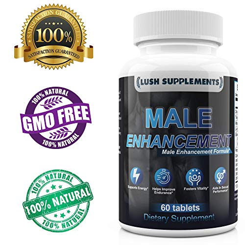 Max Potency Male Enhancement Pills - Premium Fast Acting Male Testosterone Booster Supplement Increases Size, Desire, Stamina, Performance, Mood & Energy For Men - L Arginine, Tongkat, Maca Supplement