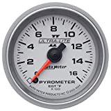 "AUTO METER 4944 Ultra-Lite II 2-1/16"" 0-1600 F Full Sweep Electric Pyrometer, 2.3125 in."