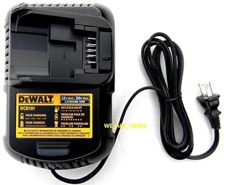Dewalt DCB101 - Cargador de batería de litio para taladro ...