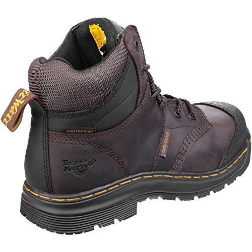 Dr Martens Mens Surge ST6 Tie New Dallas Water Resistant Hydro Boots Brown