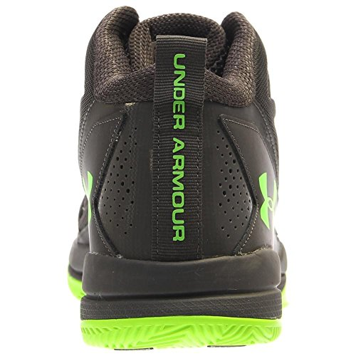 Under Armour Mens Jet Mid Carboncino / Iper Verde / Iper Verde