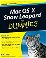 Mac OS X Snow Leopard For Dummies Front Cover
