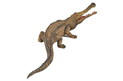 3403b6a4eedd9 CollectA Prehistoric Life Sarcosuchus Toy Dinosaur Figure - Authentic Hand  Painted   Paleontologist Approved Model