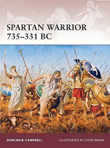 Spartan Warrior 735–331 BC PDF