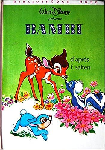 Amazon Fr Bambi Bibliotheque Rose F Salten Livres