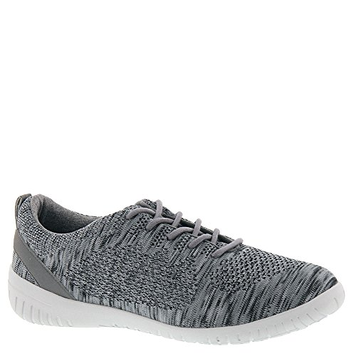 Rockport Raelyn Knit Tie Women's Oxford 7.5 B(M) US Dark Grey - Rockport Women Casual Oxfords