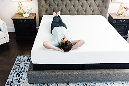 Ashley Furniture Signature design 10 Inch Chime Express remembrance polyurethane foam Mattress Bed in a Box Queen White