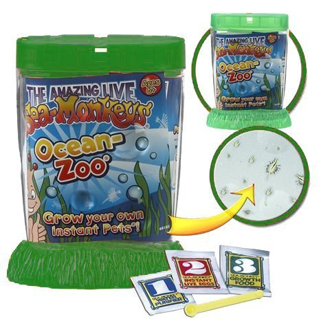 (Schylling Sea Monkeys Ocean Zoo Colors May Vary by Schylling)