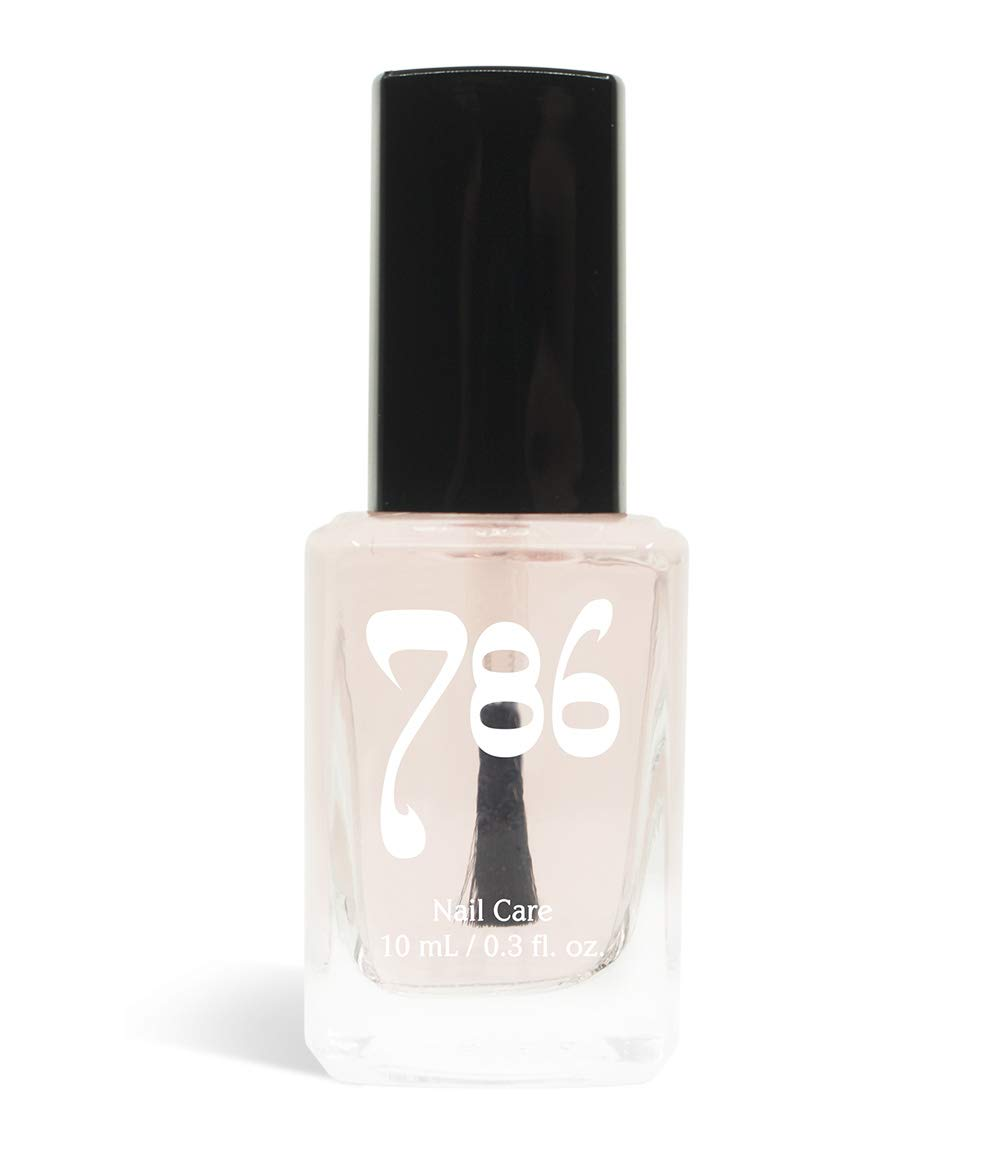 786 Cosmetics - Nail Rescue Primer, Strengthens Nails, Repairs Weak and Damaged Nails, Base Coat Primer, Can Be Worn Daily or As a Perfect Base Coat, Stronger Nails, Healthier Nails