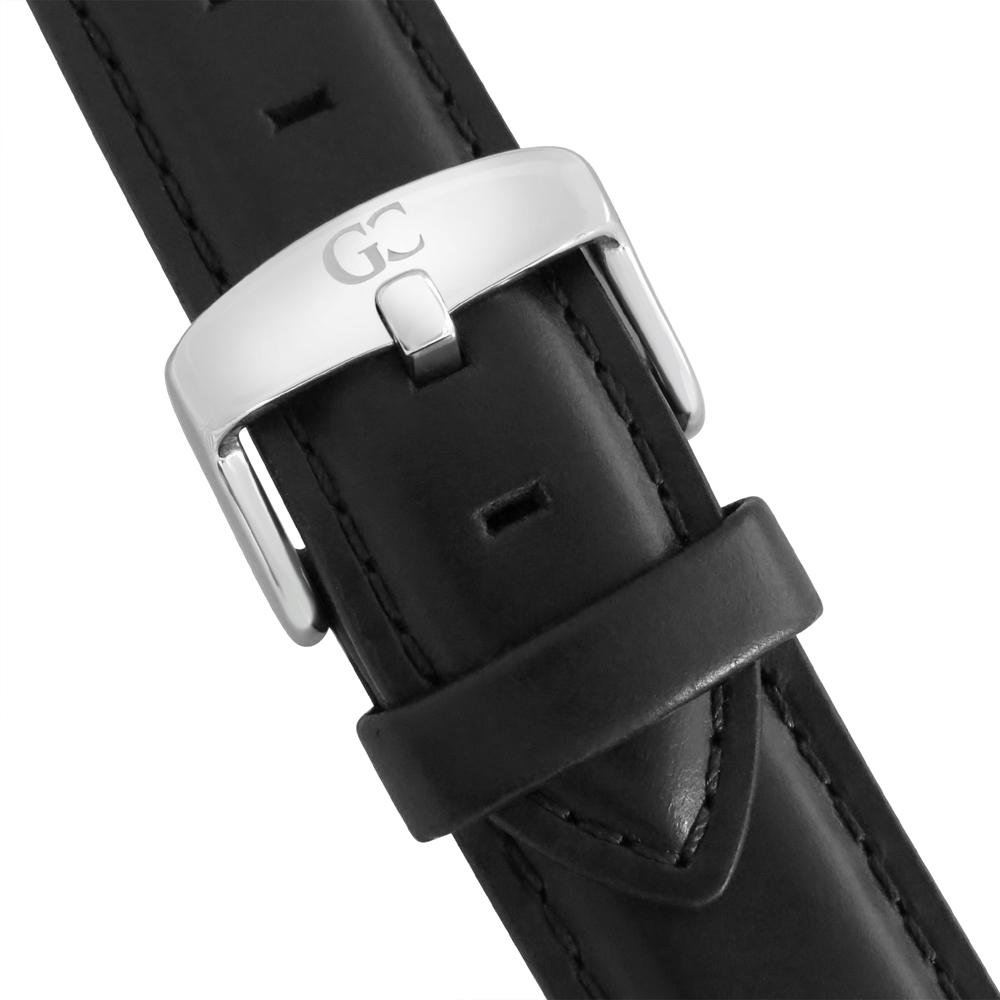 Amazon.com: Gelfand & Co. Unisex Minimalist Watch Black Leather Varick 36mm Silver with Black Dial: Watches