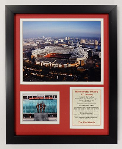 Legends Never Die Manchester United F.C. - Old Trafford Framed 12