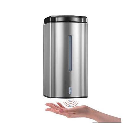gaojiangang AA Dispensador de Jabón de Acero Inoxidable Detección automática de la Bomba de Jabón,