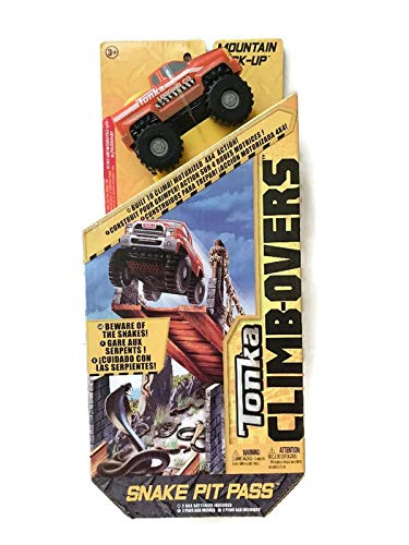 Tonka Climb-Over Vehicle with Track - Snake Pit Pass Mountain - Pickup Tonka Truck