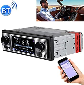 SX-5513 Car Radio 1 DIN Bluetooth FM USB TF Card Stereo MP3 ...