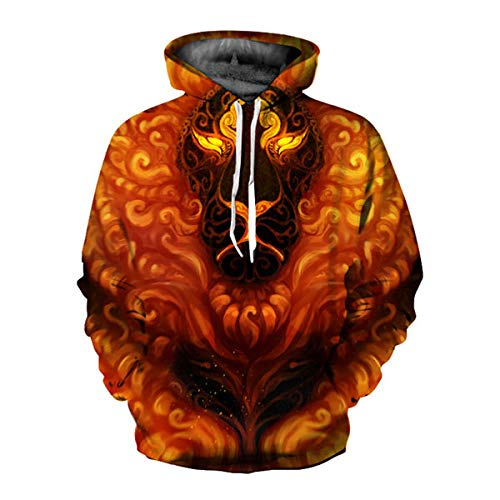 Abbigliamento Felpa Tute 487 Uomo Stampato Casual Pullover 3d Letamg donna Stile Per Felpe x0wfaPdnq