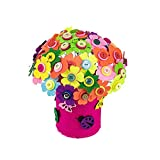 East Majik Colorful DIY Craft Meaningful Gifts DIY Toy Can Make 30 Flowers Set of 2