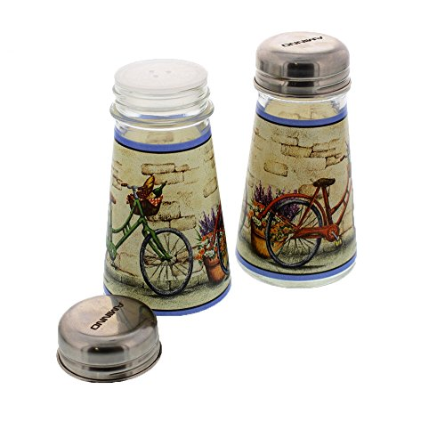Set Glass Salt Pepper Shakers product image