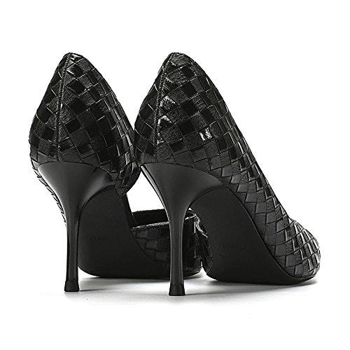 Pumps Schuhe Flach Stiletto Frauen Hochzeit Damen Spitz Sandalen ZPFMM High Kleid Sexy Heels Slip Braut On 0PnZxqF