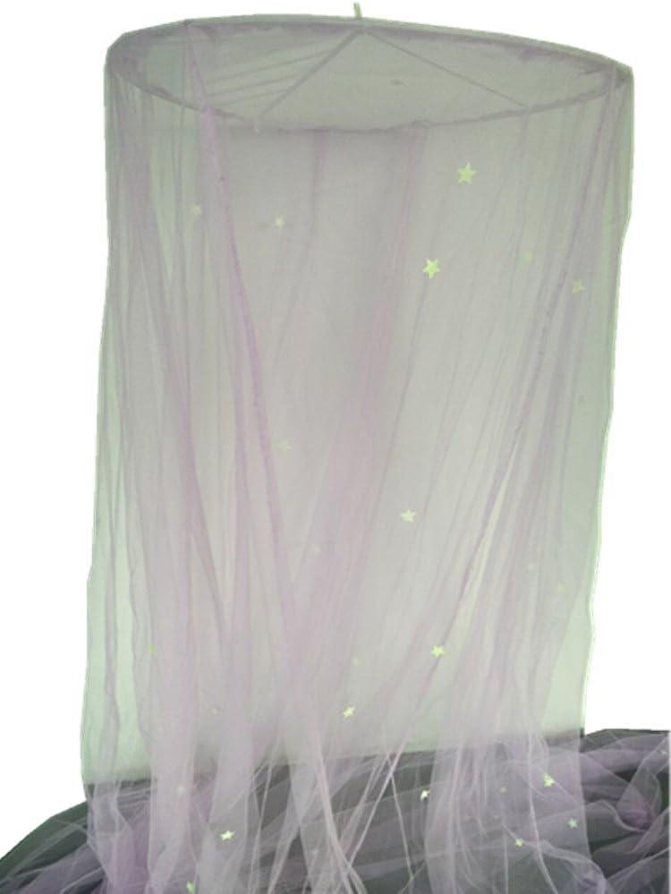 Mosquito Nets avec lumi/ères Lyh Ciel de lit moustiquaire Filet