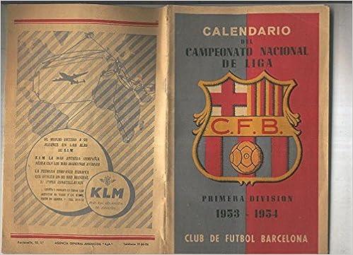 Calendario Futbol Primera Division.Calendario Del Campeonato Nacional De Liga C F B Primera Division