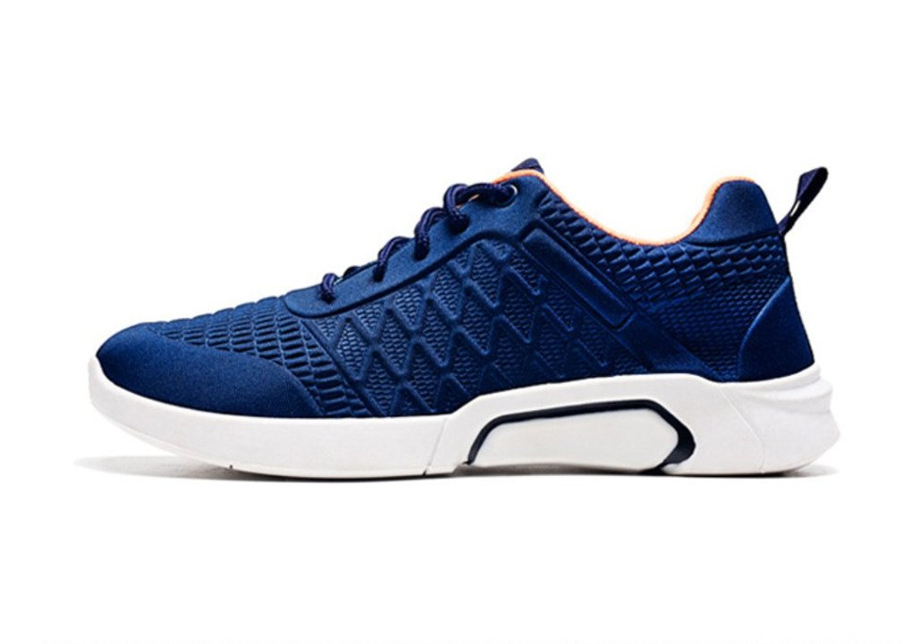 LUCKY-U Hommes Chaussures, Hommes Sport Occasionnel Chaussures De Course Air Trainers Jogging Fitness Choc Absorbant Gym Athletic Sneakers