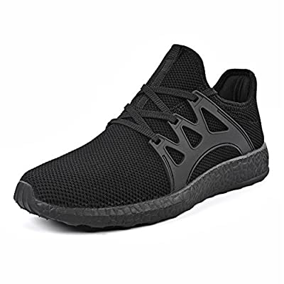 QANSI Womens Girls Fashion Casual Knitted Sports Sneakers Athletic Running Shoes