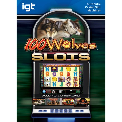 IGT Slots 100 Wolves [Download] (Pc Casino Game Downloads)