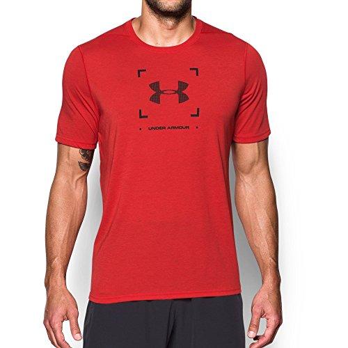 Under Armour Men's Threadborne Target Logo T-Shirt, Red/Black, - For Men Target