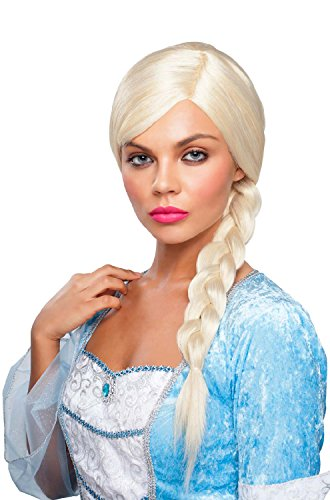 Goddessey Natural Red Braided Princess Wig Adult