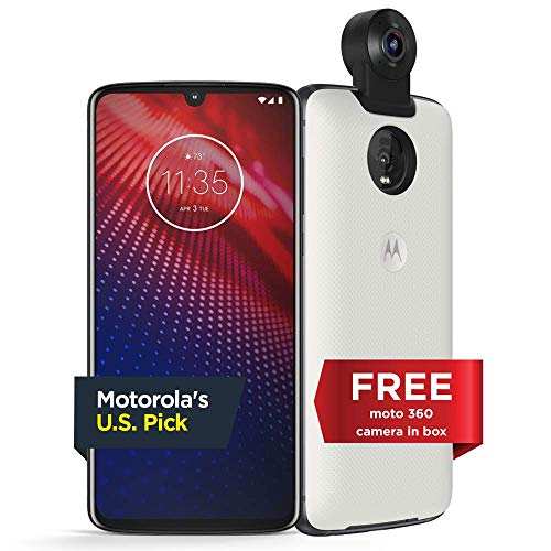 Moto Z4 - Unlocked - 128 GB - Flash Gray (US Warranty) - Verizon, AT&T, T-Mobile, Sprint, Boost, Cricket, Metro - PAF60007US