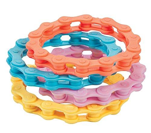 Bike Chain Bracelets Silicone circ product image