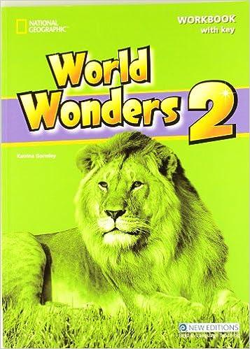 Descargar libros gratis en línea pdfWorld Wonders 2 - Workbook with Key 1424059364 PDF iBook