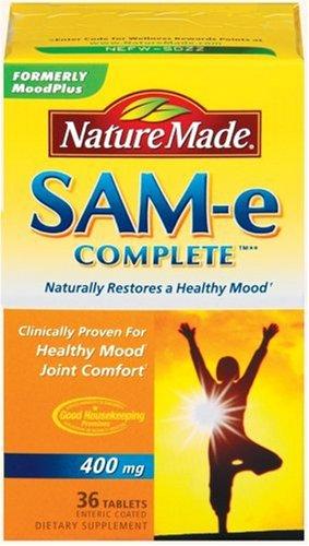 Nature Made SAM-e complète 400mg, comprimés 36