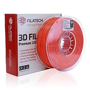Filatech ABS Filament, Lum. D. Orange, 1.75mm, 0.5KG