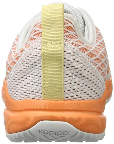 Cloudfoam White Arianna easy De Adidas Yellow Orange Mujer Zapatillas easy Para Blanco ftwr Deporte 5zqqd