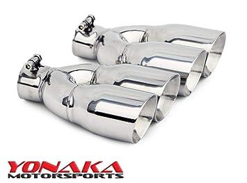 Amazon.com: Yonaka par de puntas de escape universales de ...