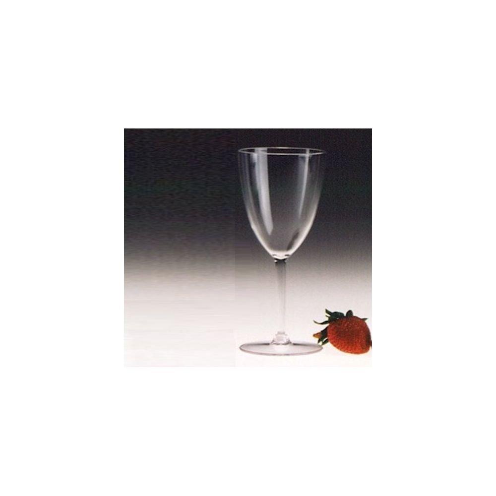 Encore Plastics 70010 C Clear 10 Oz. Tokay Wine Glass - 36/CS