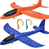 """BooTaa 2 Pack Airplane Toys, Upgrade 17.5"""" Large"""