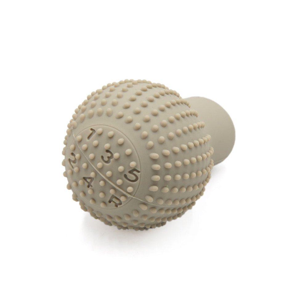 Generic Anti-Scratch Bump Shift Knob Protective Cover Case - Beige Color product image