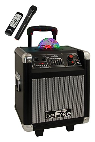 Light Pro 3800 (beFree Sound BFS-3800 Projection Party Light Dome Subwoofer Bluetooth Portable Party Speaker)