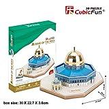 CubicFun 3D Puzzle Dome of The Rock MC189h 48