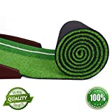 Premium Wooden Putting Green for Executive Level Playing - Golf Indoor Putting Mat Automatic Golf Putting Practice Training Aid