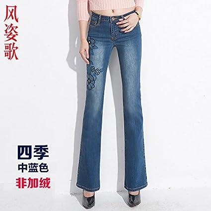 XiaoGao High Waisted Jeans Ajustados Pantalones Vaqueros ...