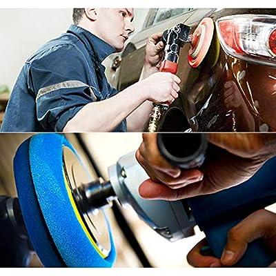 Lasdoloda Buffing Pads and Polishing Pad for Car Polisher,Polishing Pads for Drill, Drill Polisher Attachment, Buffing Pads for Drill Sponges Car Polishing Pads, Drill Polishing Kit (6 inch): Automotive